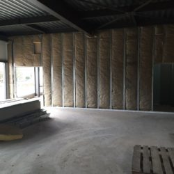 Bâtiment Velleminfroy en construction