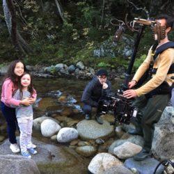 Tournage vidéo avec enfants publicité Velleminfroy