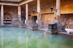 Les bains romains et les thermes ont été contruits pour profiter des bienfaits de l'eau sur le corps