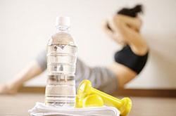 L'eau est garante des performances physiques du sportif