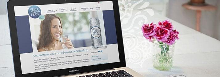 Lancement du site Velleminfroy.fr
