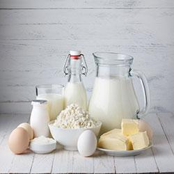 Le lait et les produits laitiers constituent la principale source de calcium