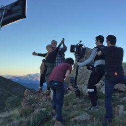 Prise du tournage pour publicité Velleminfroy