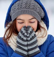 Les risques de déshydratation sont aussi élevés en hiver