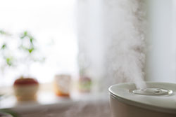 L'air de votre maison est sec, utilisez un humidificateur d'air