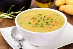 La soupe est une bonne alternative à l'eau pour s'hydrater