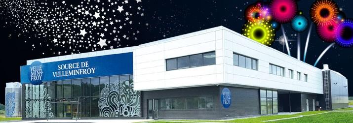 Soirée d'inauguration de l'usine Velleminfroy
