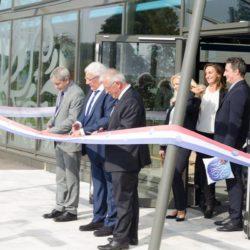 Inauguration usine de Velleminfroy
