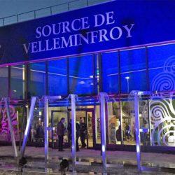 Site de production Velleminfroy avec jeux de lumière