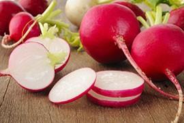 Les nitrates sont naturellement présents dans certains légumes comme les betteraves et les radis.