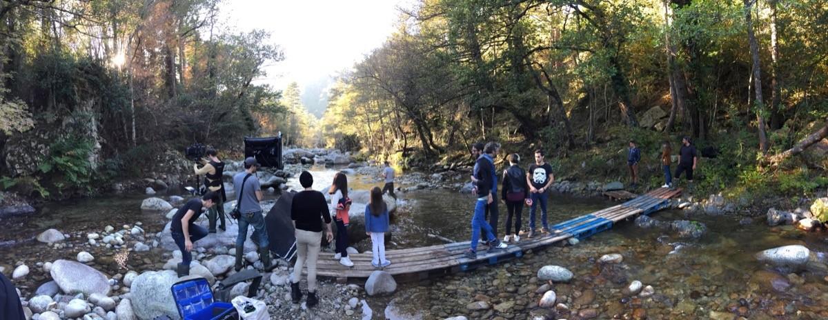Panoramique lieu tournage scene enfants publicite velleminfroy