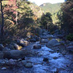 Paysage rivière lieu de tournage