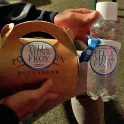 Pique-nique eau minérale Velleminfroy et Poulaillon