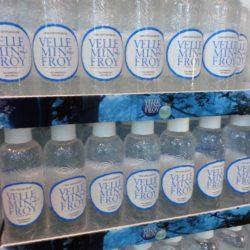 Présentoir bouteille eau minérale pure Velleminfroy