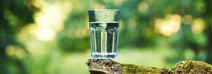 Les résidu sec dans l'eau minérale