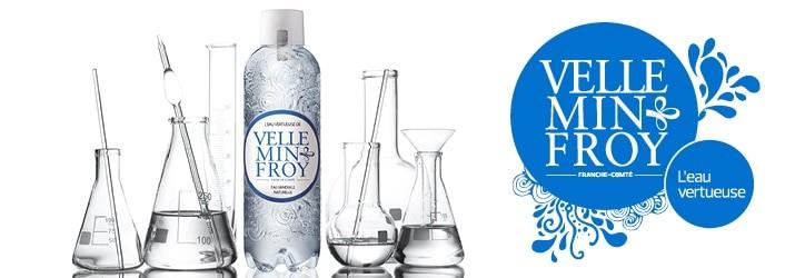 L'eau minérale de Velleminfroy analysée