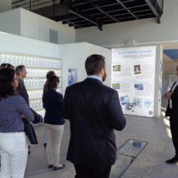 Réunion cci international visite du showroom Velleminfroy