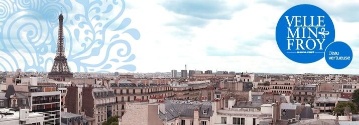 Tournage publicité Paris eau de Velleminfroy