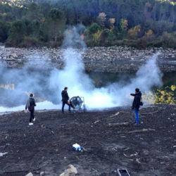 Création brume pour tournage publicité Velleminfroy