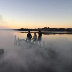 Tournage publicité Velleminfroy scène avec brume