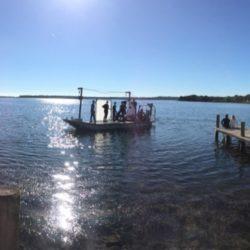 Panorama tournage Velleminfroy scène ponton bateau
