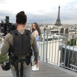 Alex Giordano toit paris tournage eau minérale
