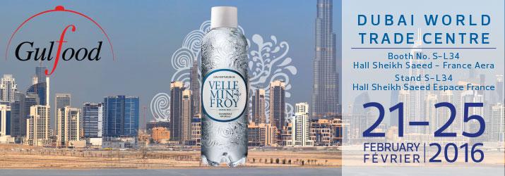 L'eau de Velleminfroy présente à l'international