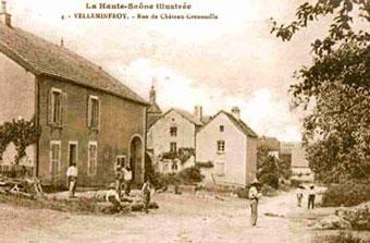 Village de Velleminfroy et ses commerces