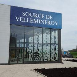 Vitre usine Velleminfroy