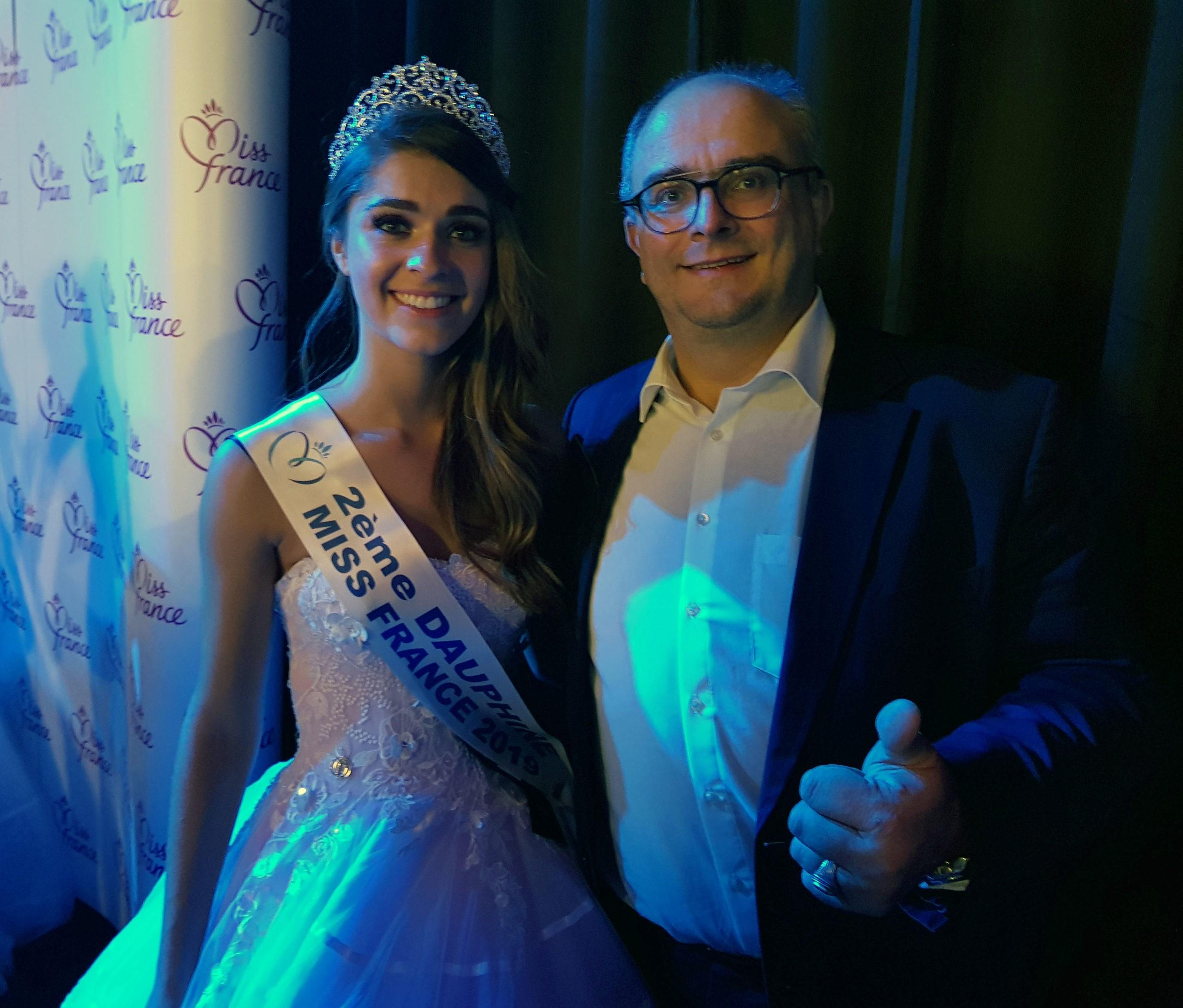 Lauralyne Demesnay 2ème dauphine miss France 2019 et Miss Franche Comté 2018