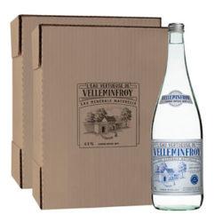 <span>Vintage 1</span> - Eau Minérale Naturelle Plate Bouteille en verre Vintage  2 cartons de 6 x 1 L