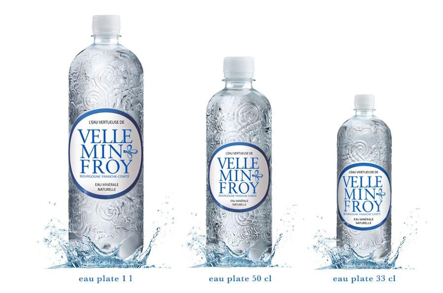 Gamme PET eau plate Velleminfroy