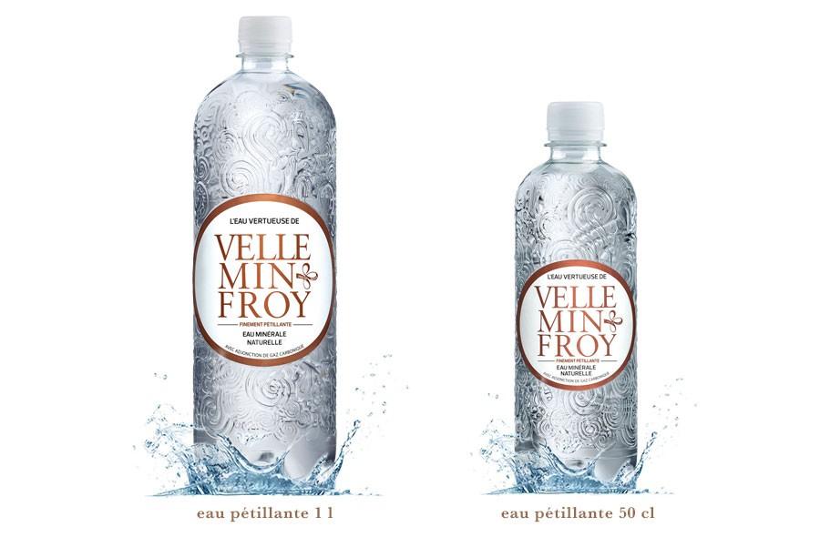 Gamme PET eau pétillante Velleminfroy