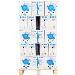 1/2 palette - Bouteille PET eau plate 50 cartons de 6 x 1 litre