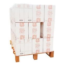 1/2 palette PRESTIGE - Bouteille verre eau pétillante 39 cartons de 6 x 0,75 litre