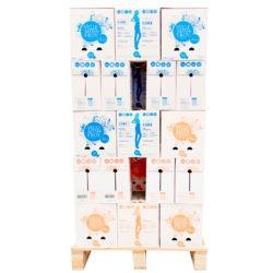 <span>1/2 palette</span> – Mixte Bouteille PET eau plate et eau pétillante