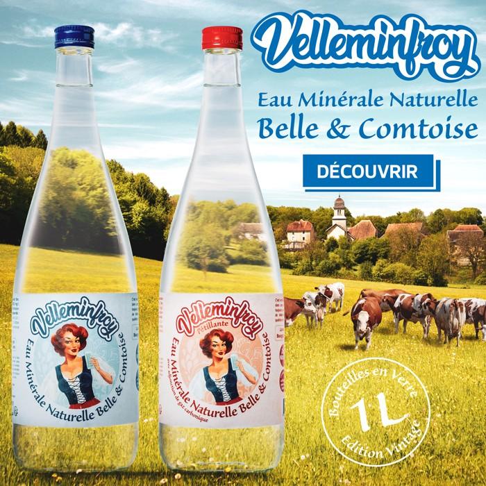 Découvrez notre nouvelle gamme de bouteille La Belle Comtoise à découvrir !